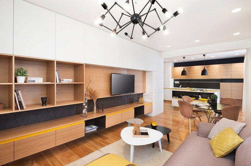 Appartement jaune