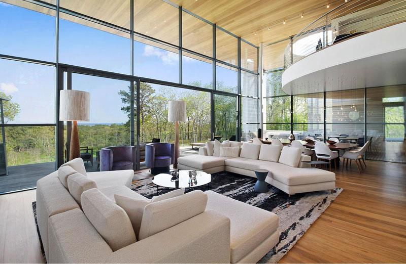 Espace de vie de la résidence Hamptons