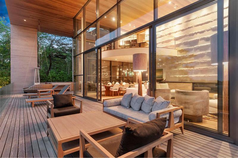 Terrasse en bois Hamptons Residence