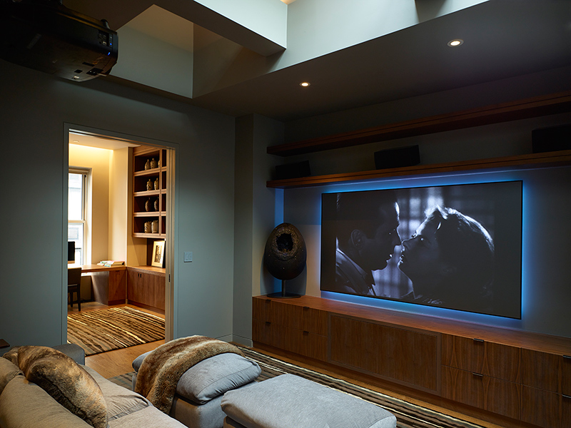 Cinéma maison Penthouse West 27