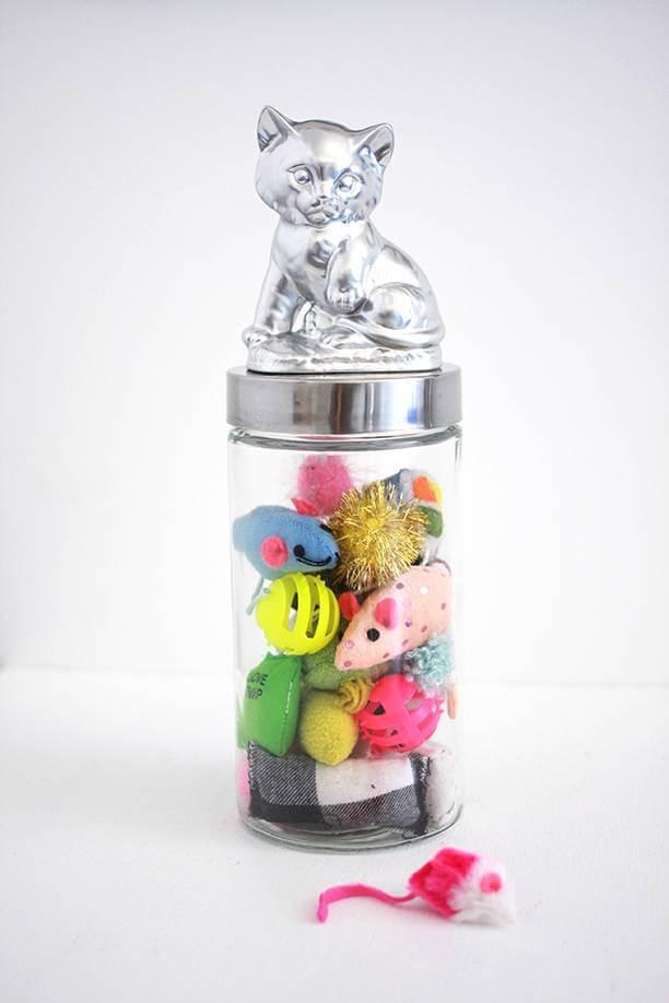 Bocal recyclé de jouet pour animaux de compagnie bricolage