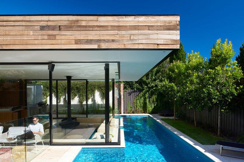 Espace de vie Pool House