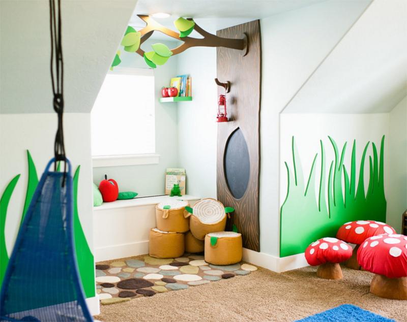 Salle de jeux fantaisiste Woodland par Mollie Openshaw