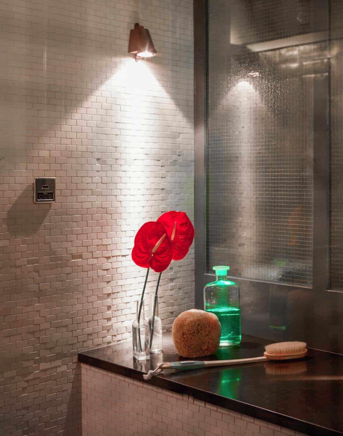 salle de bain de style industriel