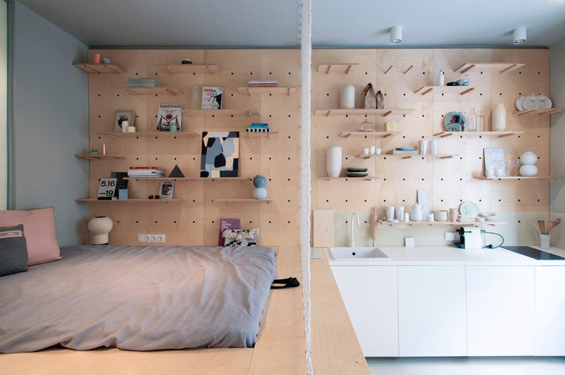Intérieur de petit appartement