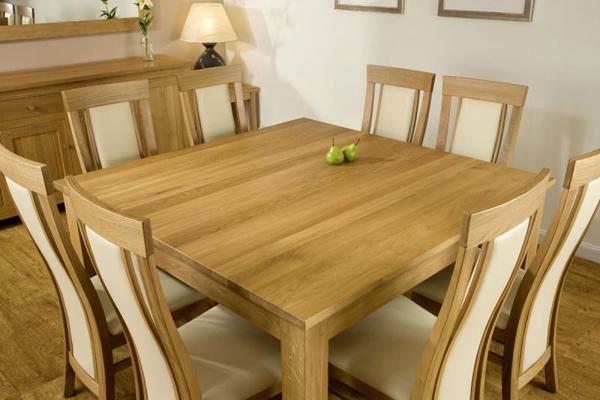 Tables de salle à manger carrées