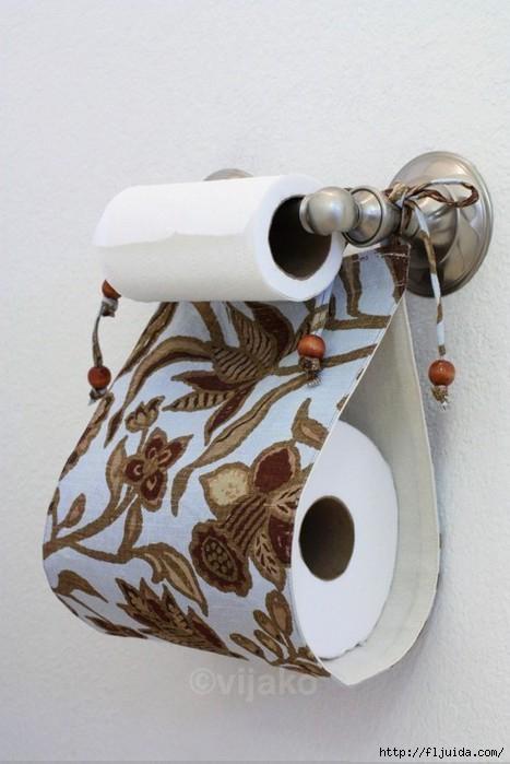 Porte-papier hygiénique de rechange en tissu bricolage