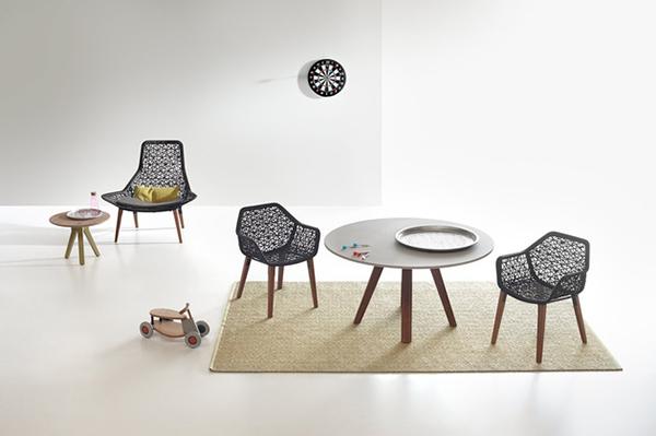 Collection de meubles en corde