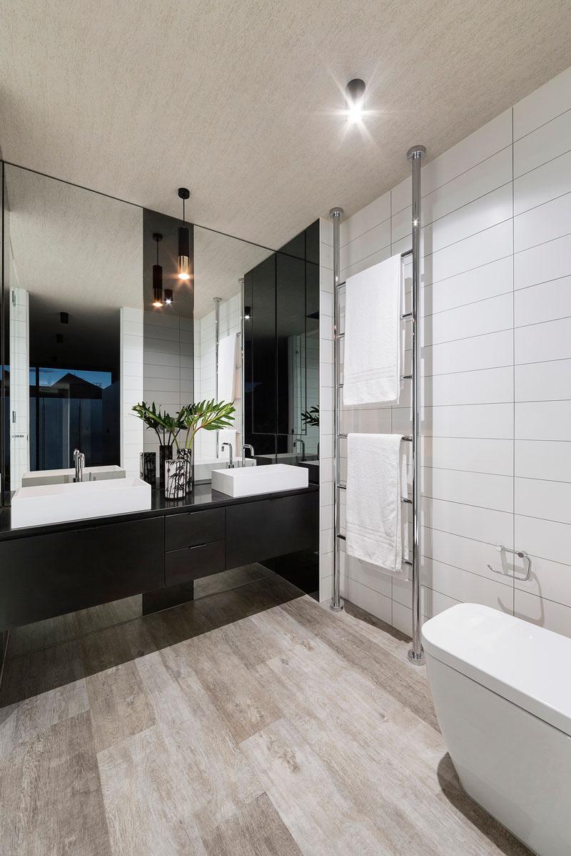 Salle de bain Feldman House