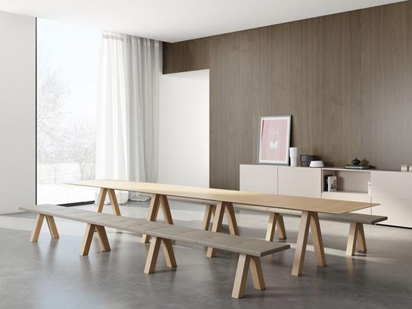 Tables de salle à manger rectangulaires