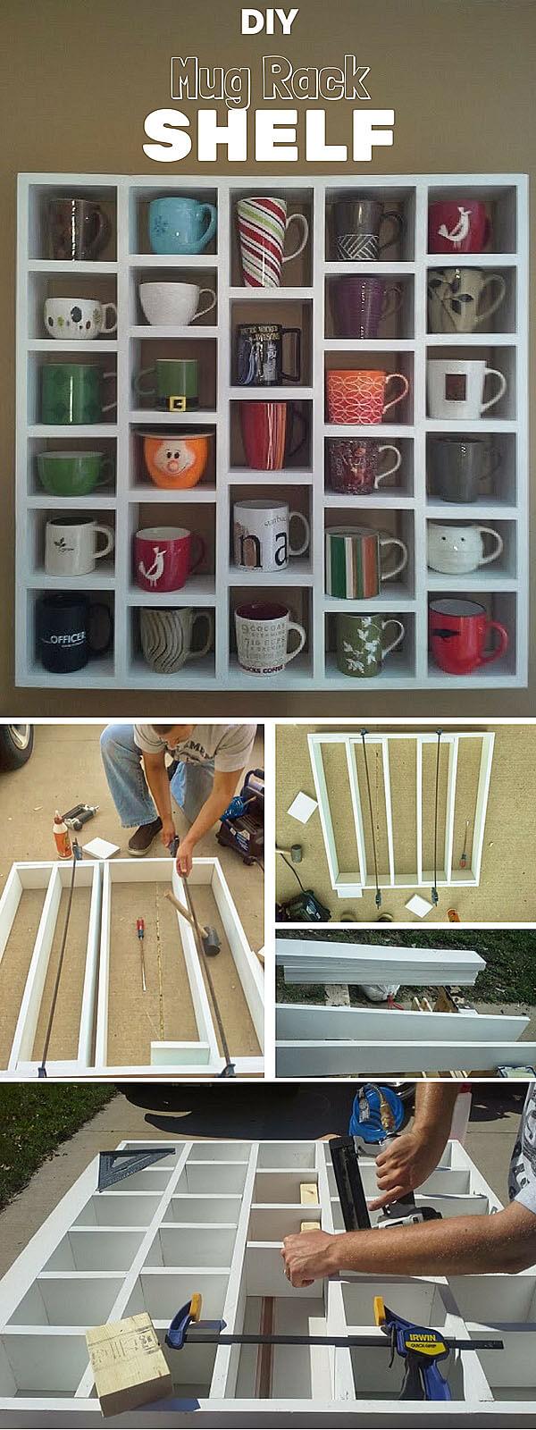 Étagères Cubby Mug DIY
