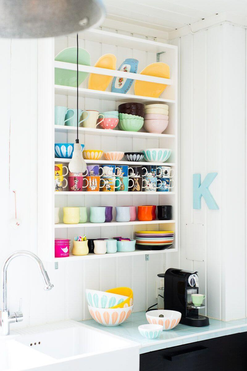 Égouttoir à vaisselle mural
