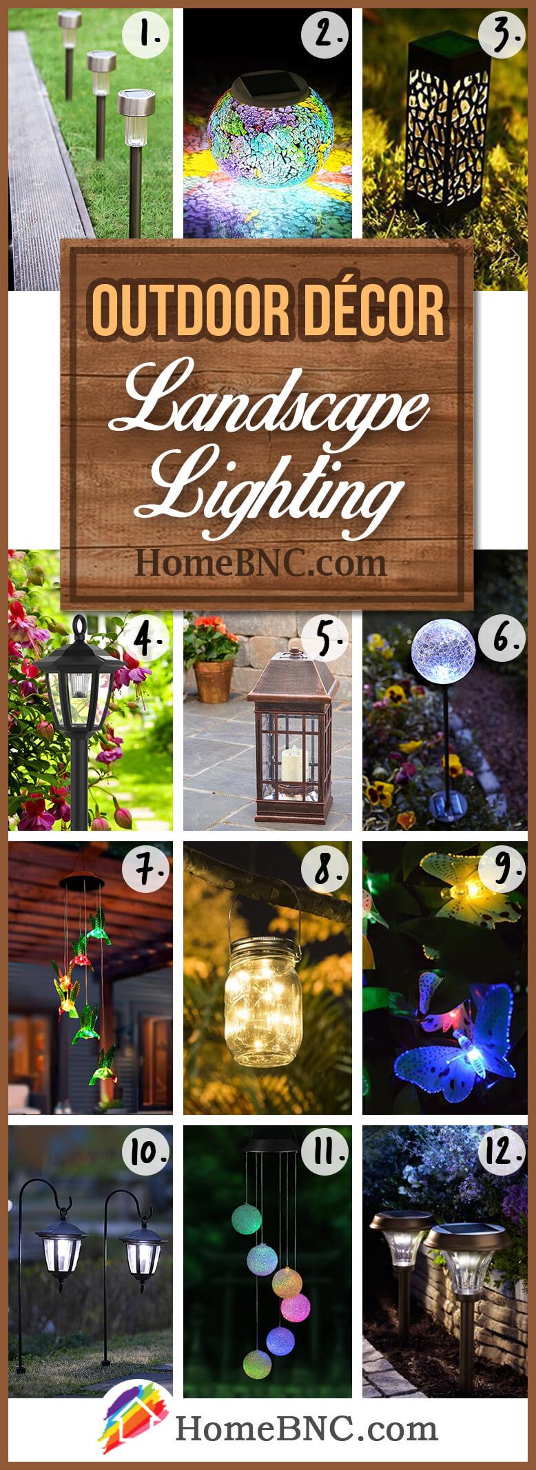 Éclairage paysager idées de décoration extérieure
