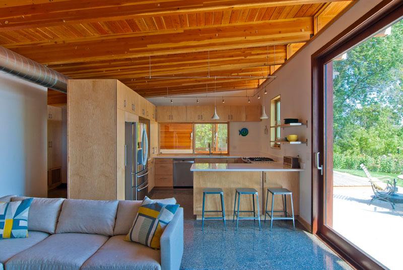 L'intérieur du Lake Michigan Beach Cottage