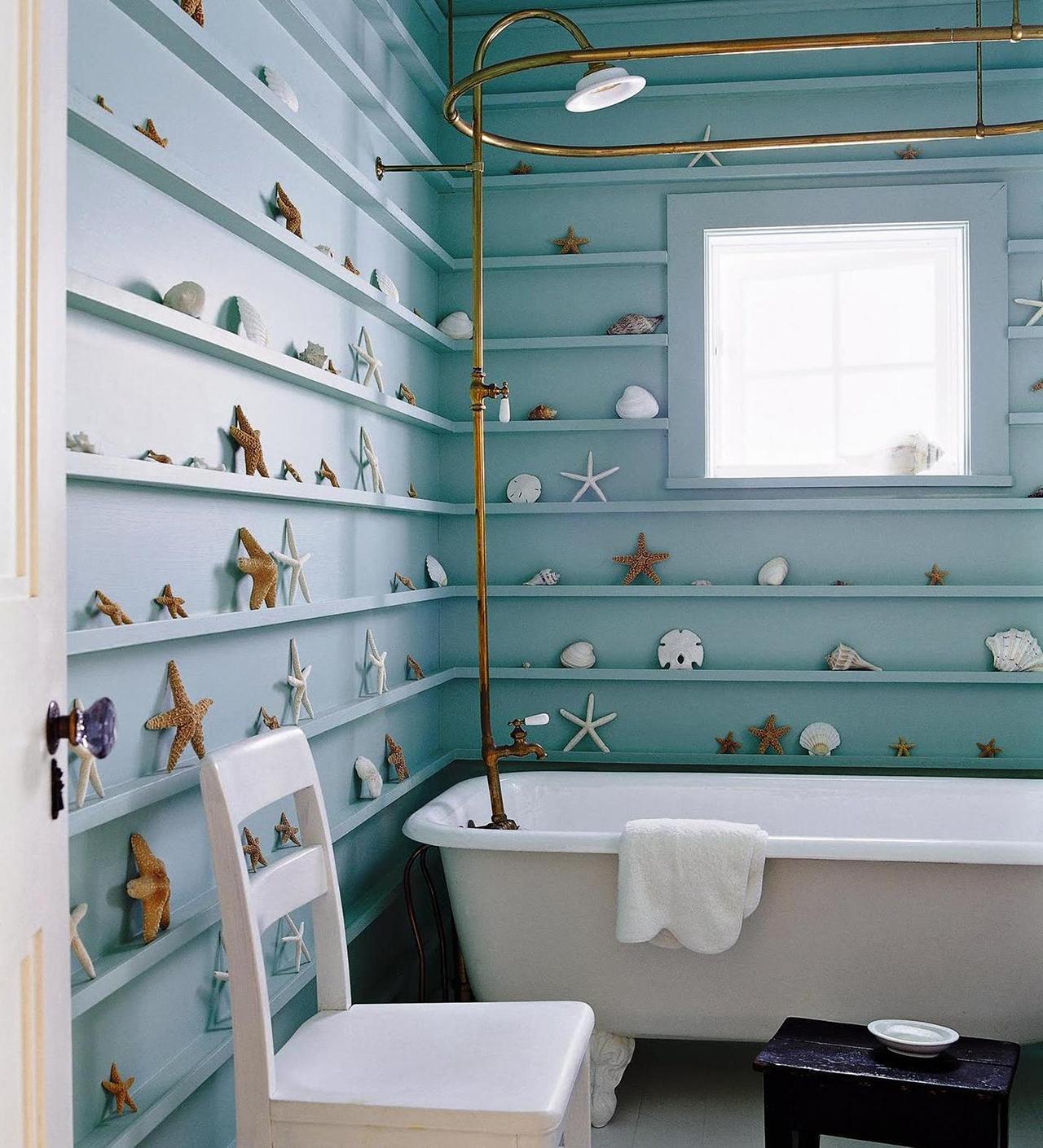 Salle de bain nautique