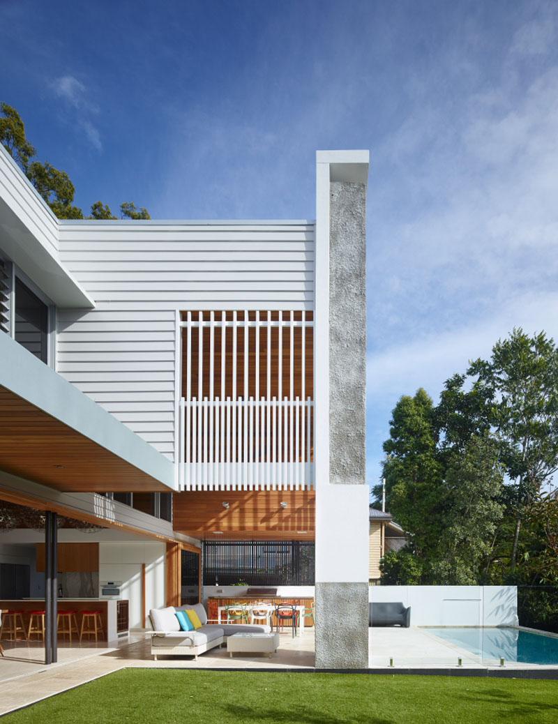 Corner House intérieur / extérieur vivant