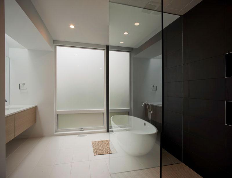 Salle de bain de la résidence Medlin