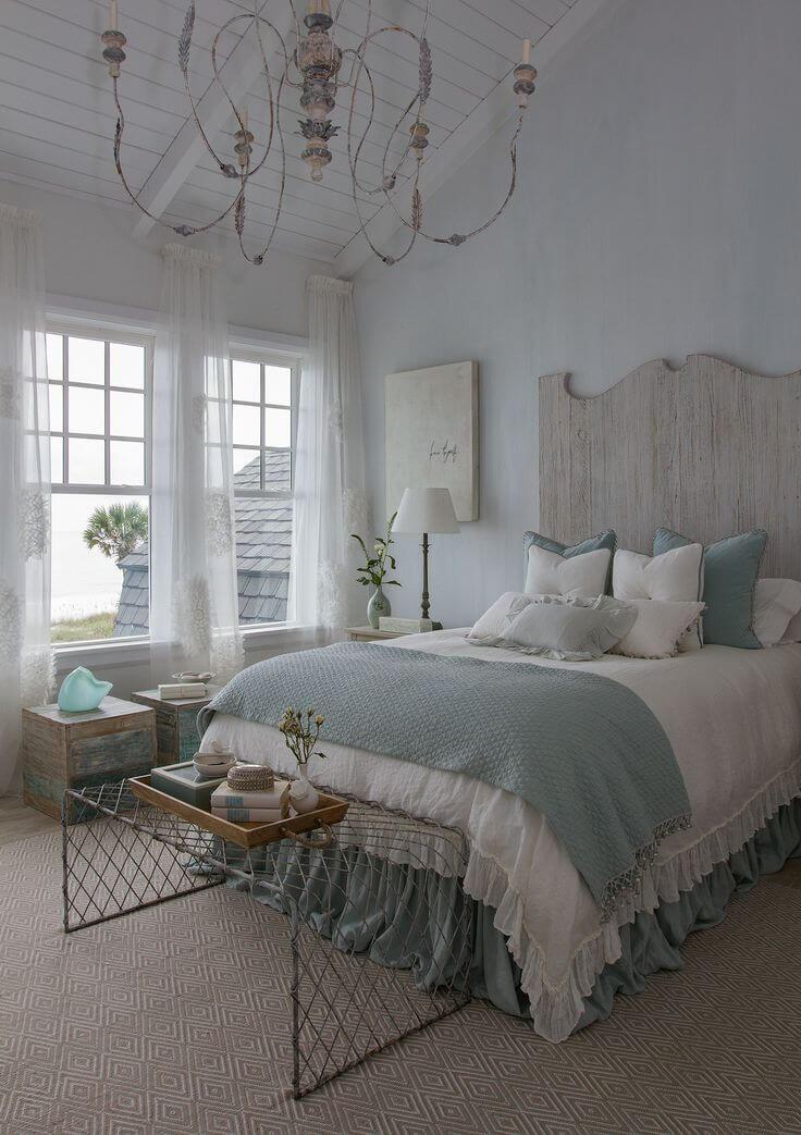 Idées de décoration pour la plage et la côte pour la chambre à coucher