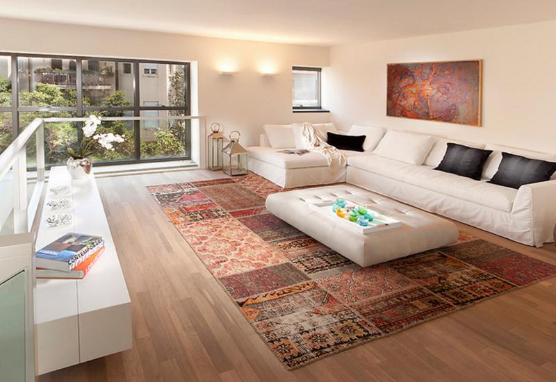 Disposez correctement les meubles sur un tapis