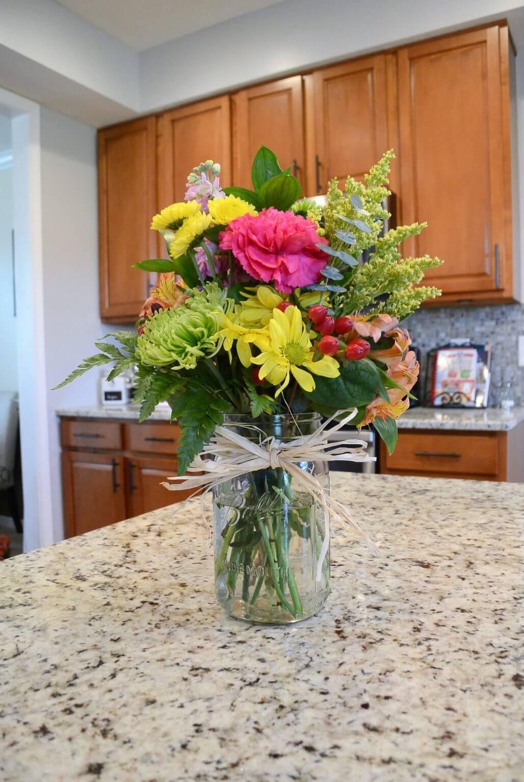 Vase à fleurs en pot Mason Super Simplicity Country