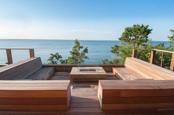 Front de mer des Hamptons