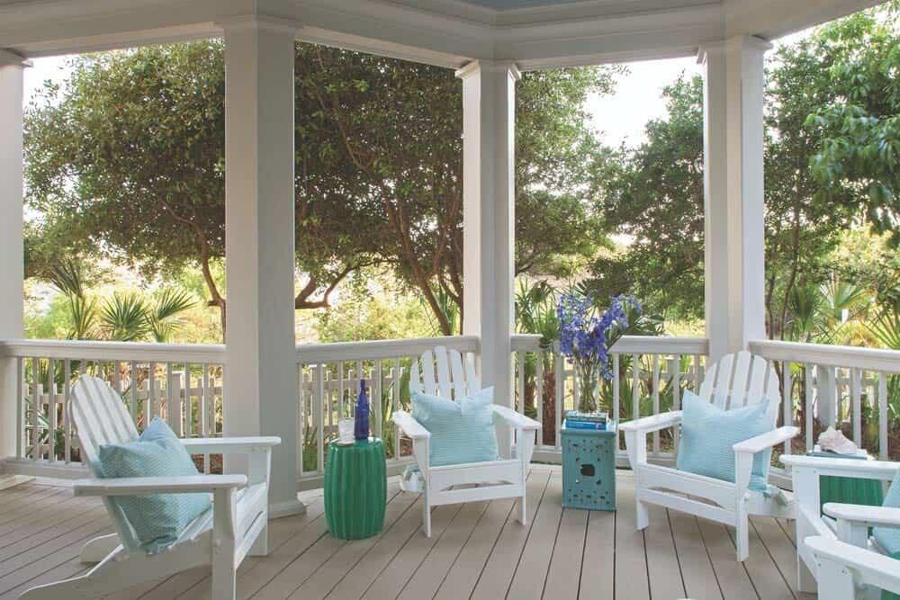 porche de style plage
