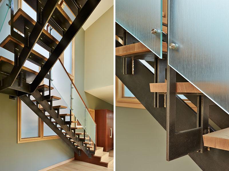 Escaliers de la maison Deschute