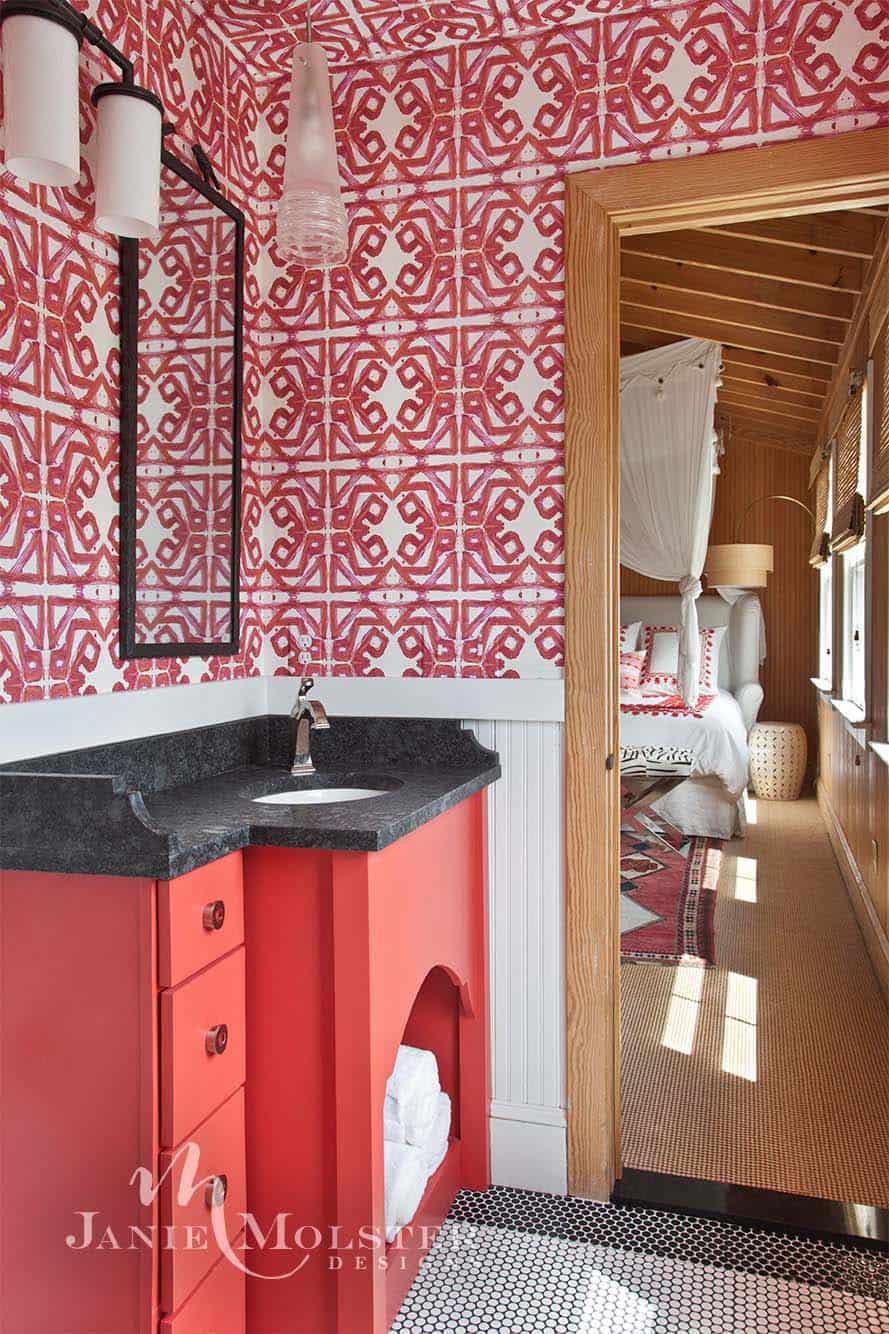 plage-chalet-salle de bain