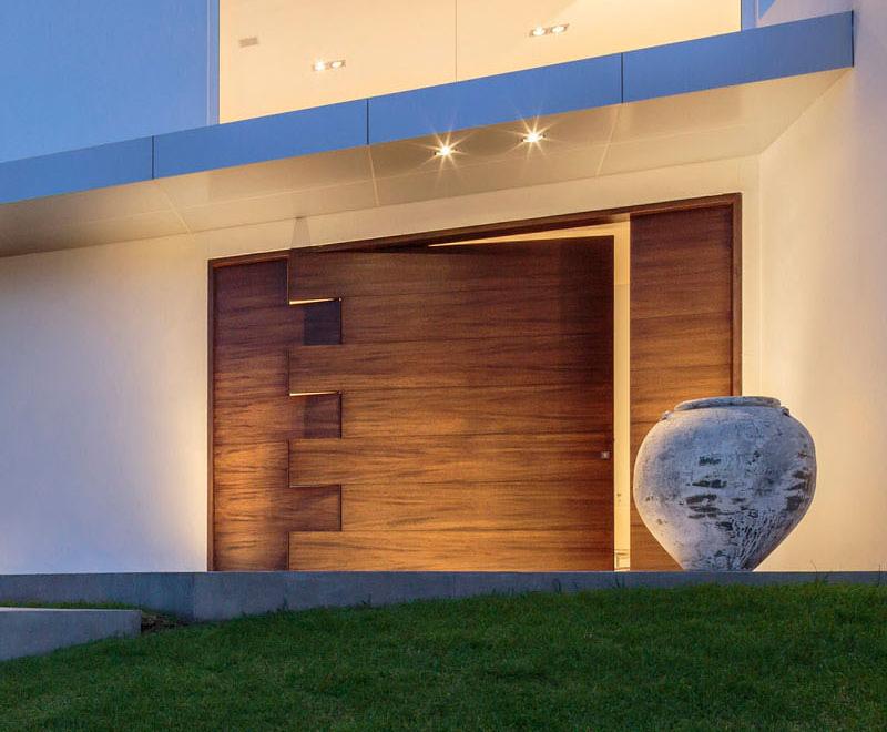 porte de puzzle pivotante résidence cumbaya