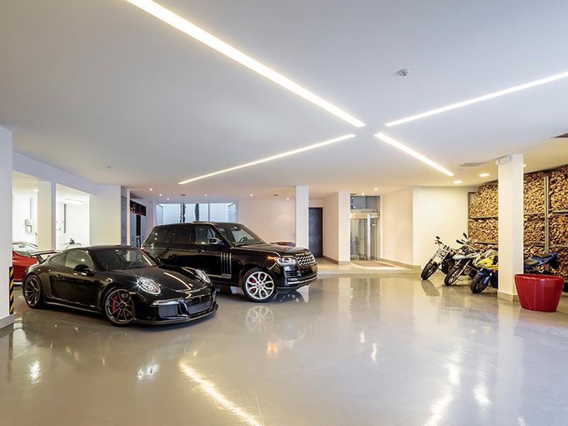 garage résidence cumbaya