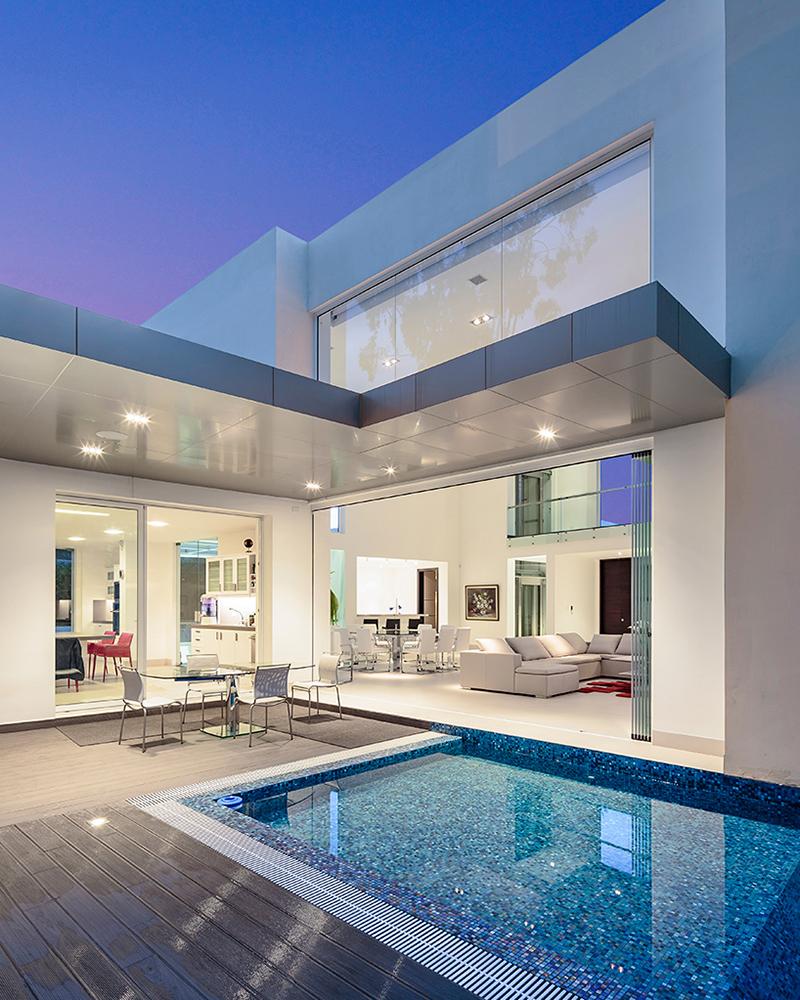 piscine de la résidence cumbaya