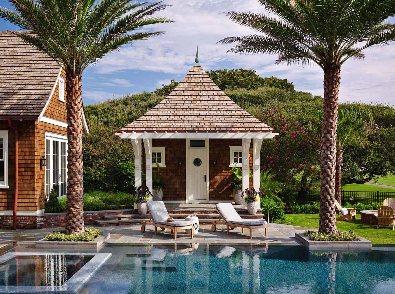 piscine de style plage