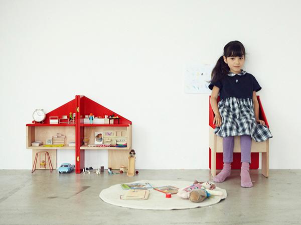 Chaise de maison de poupée
