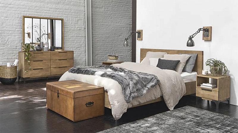 commode de chambre en bois
