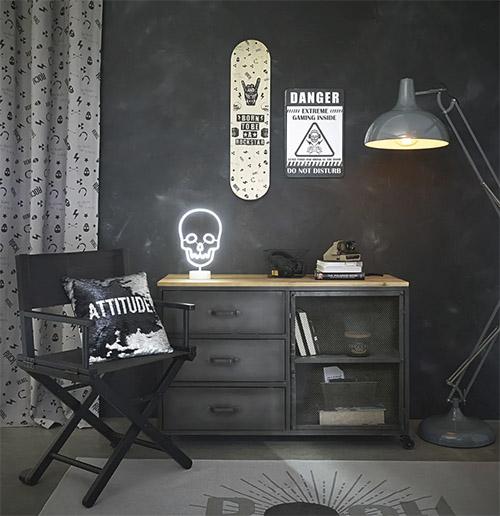 meubles industriels en bois et métal