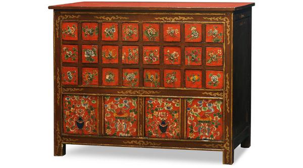 Tibétain peint