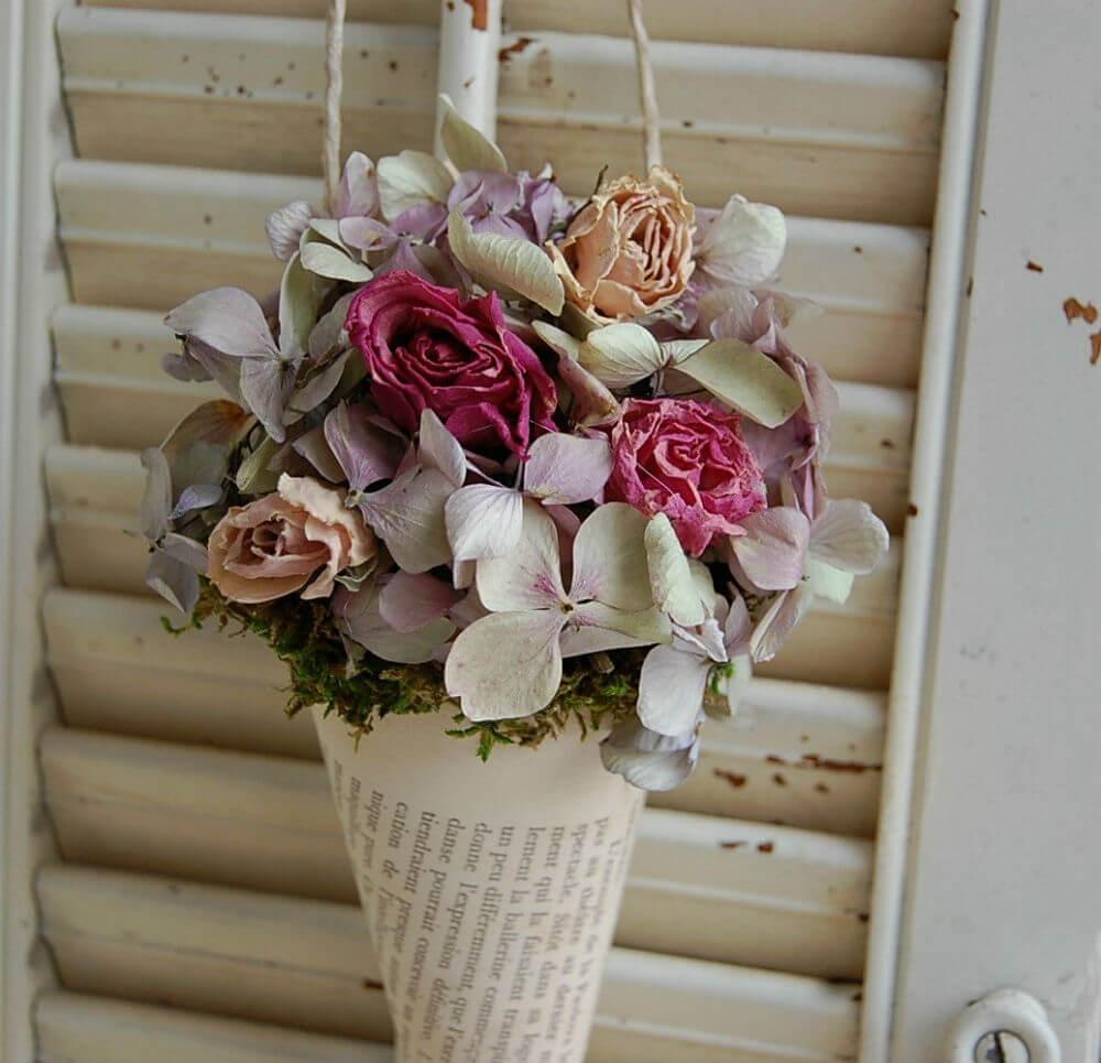 Bouquet inspiré de la ferme française romantique
