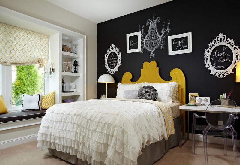 Gardez les meubles légers et colorés