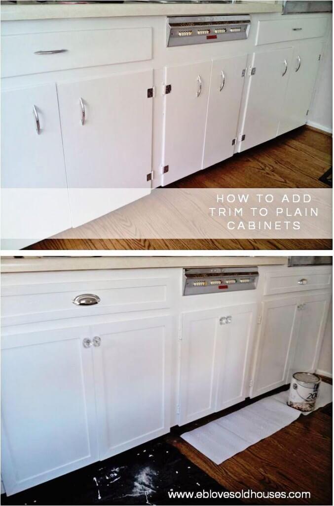 Faites passer vos armoires de terne à fabuleuse avec Trim