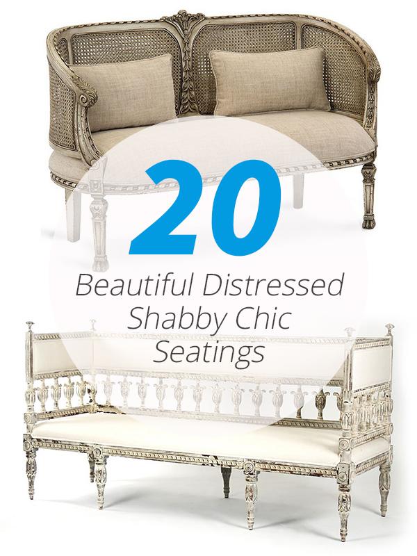sièges shabby chic