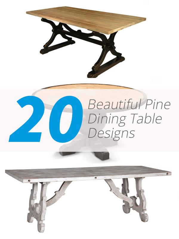 table à manger en pin