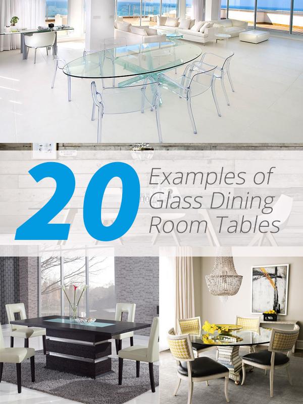 tables à manger en verre