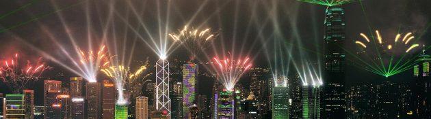 Architecture transformée par 5 fois la lumière la nuit