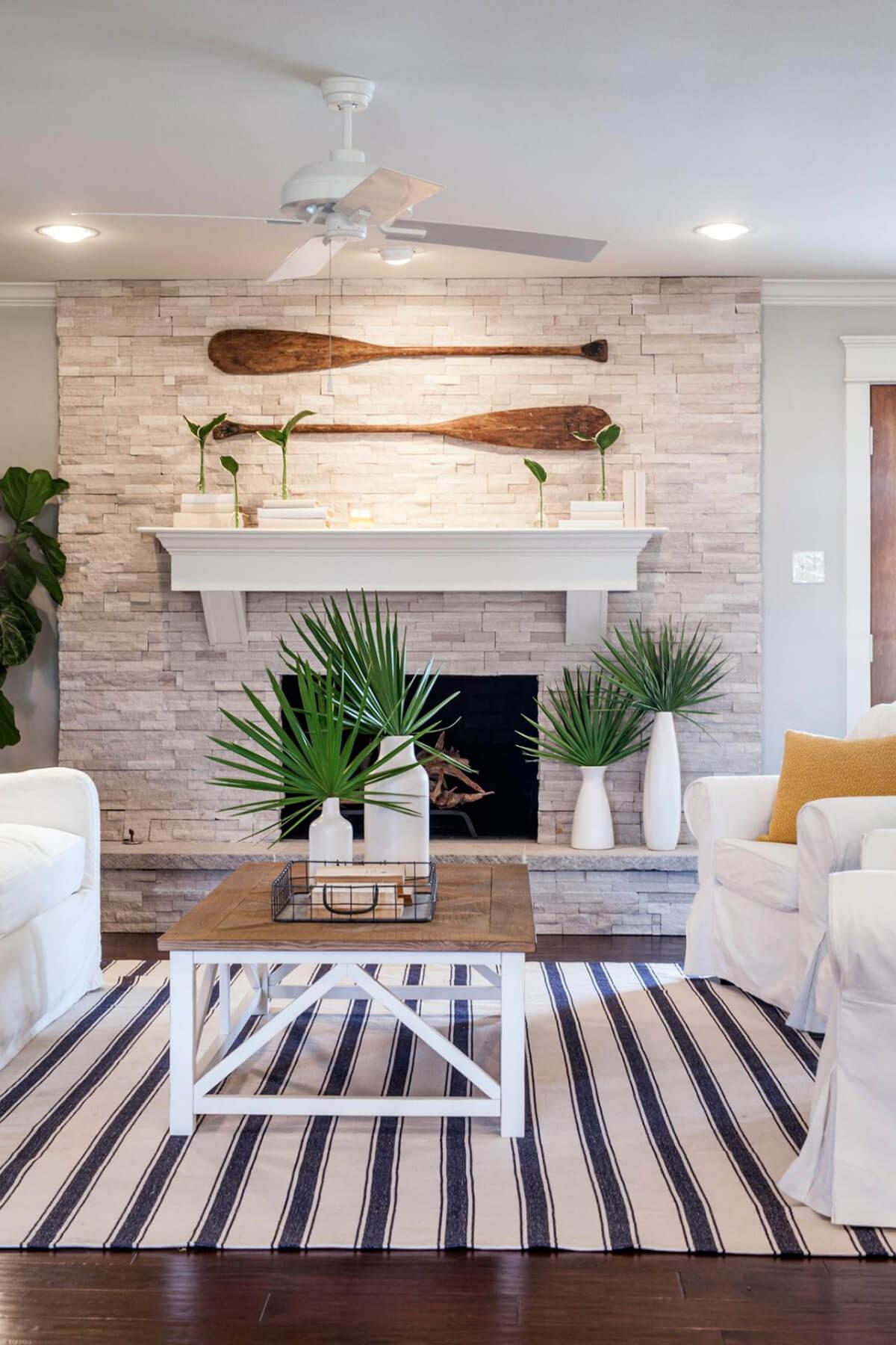 Quelques idées de décoration de plage et côtières inspirées des palmiers