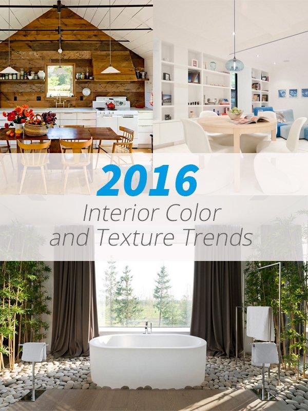 Texture de couleurs 2016