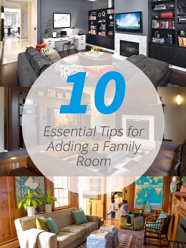 conseils pour la salle familiale