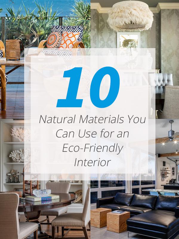 conseils matériaux naturels