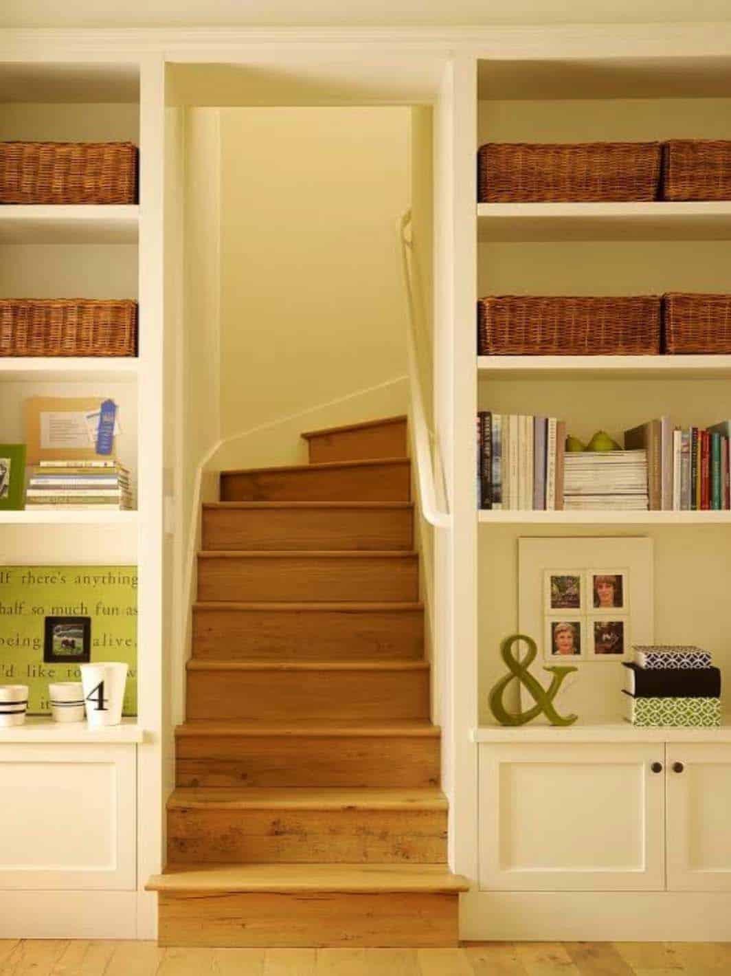 escalier traditionnel