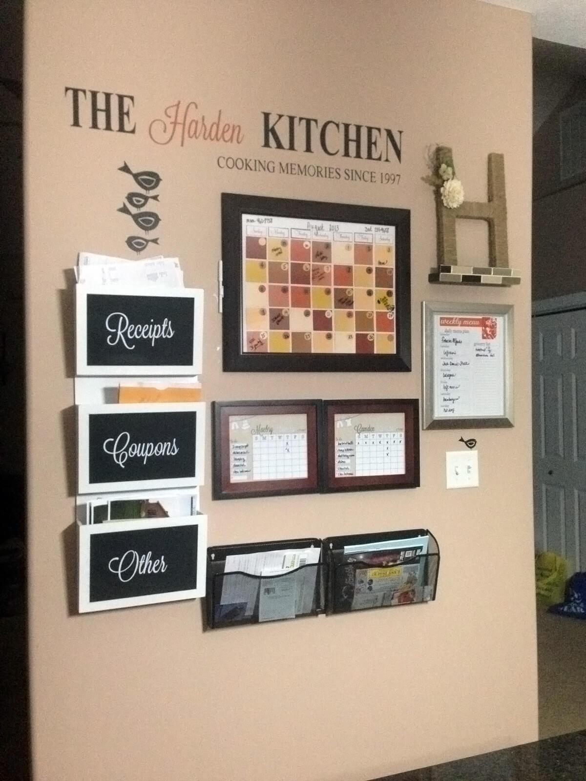 Centre de cuisine chaleureux, épicé et inspiré de l'automne