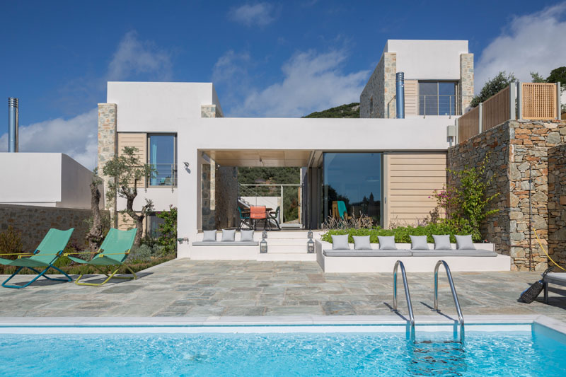 Atrium Villas piscine